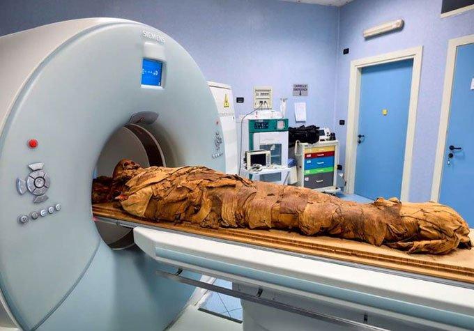 Giải mã xác ướp Ai Cập bằngcông nghệ CT scan