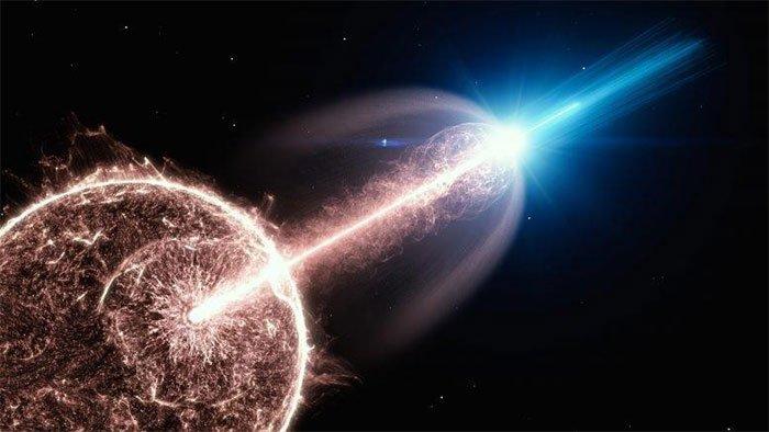 Góc nhìn đẹp nhất về vụ nổ vũ trụ đặc biệt