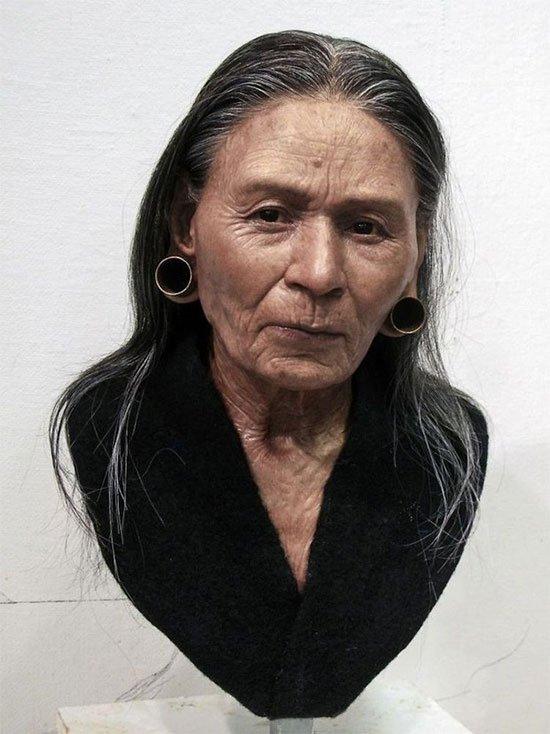 Gương mặt của người thật sống hàng nghìn năm về trước, đẹp từng milimet khiến nhiều người bị lừa