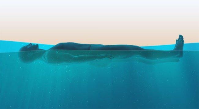 Hai cách để thoát khỏi đuối nước khi không biết bơi