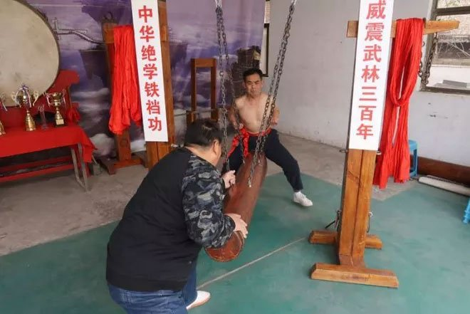 Háng sắt: Môn kungfu dành cho người dám chịu nỗi đau không ai thấu
