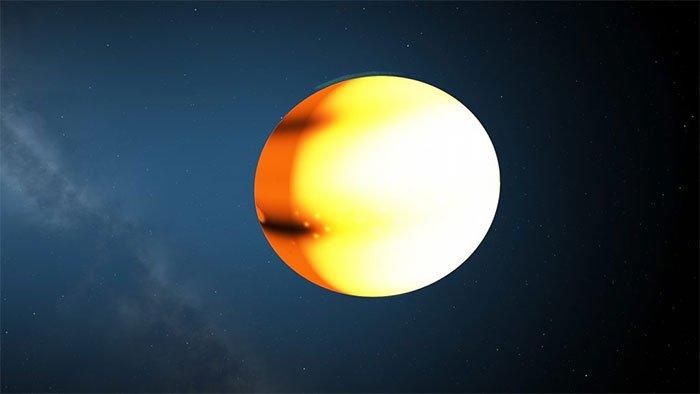 Hành tinh khí khổng lồ chỉ mất 18 giờ quay quanh sao chủ