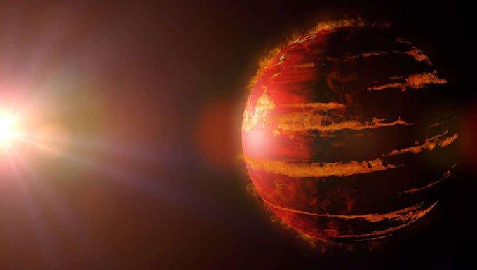 Hành tinh khổng lồ khiến các nhà khoa học bối rối