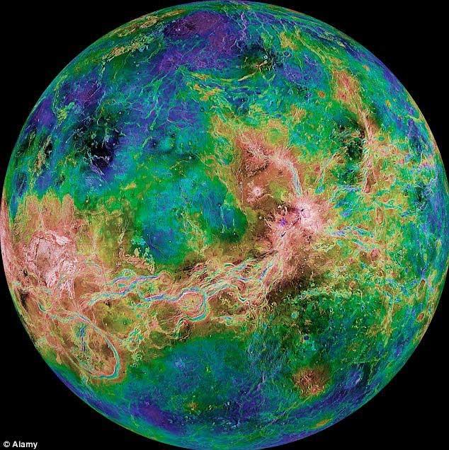 Hành tinh này có thể từng mang sự sống