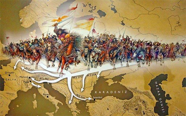 Hành trình vĩ đại của người Hung Nô: San bằng Trung Á, xâm lược và bắt La Mã cống nạp