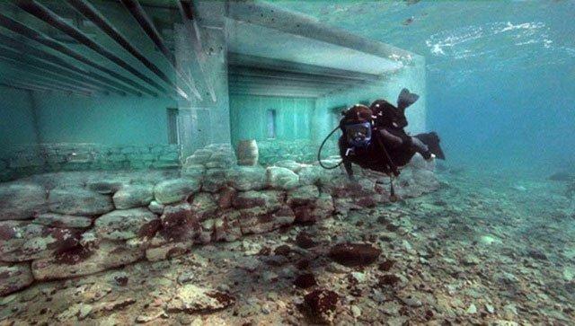 Hé lộ bí mật về Pavlopetri - Thị trấn dưới nước lâu đời nhất trên thế giới