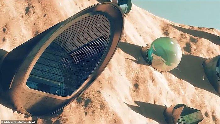 Hé lộ về thành phố đầu tiên trên sao Hỏa, đủ chỗ cho hơn 25 vạn người sinh sống