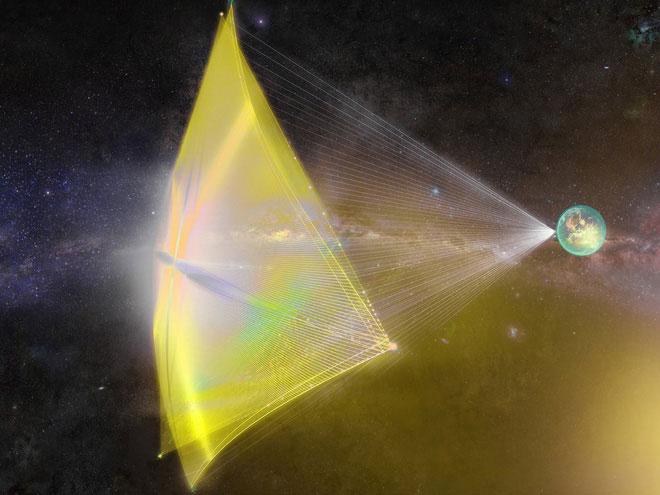 Hệ thống laser 100 gigawatt sẽ là nguồn năng lượng đưa ta du hành sang hệ sao khác