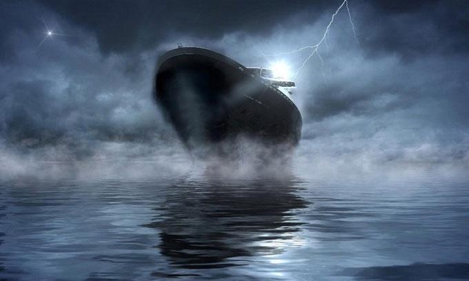 Hiện tượng bí ẩn khiến tàu ngừng chạy giữa biển