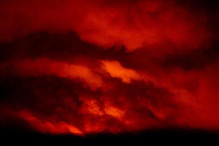 Hiện tượng thời tiết quái dị do cháy rừng ở Mỹ