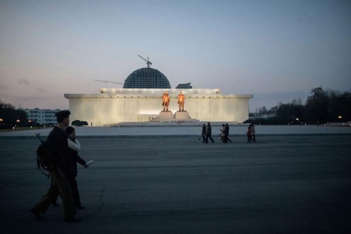 Hình ảnh đẹp về đất nước Triều Tiên trong mùa đông buốt giá