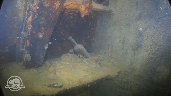 Hình ảnh kinh ngạc về con tàu đóng băng thời gian sau gần 200 năm chìm dưới đáy biển