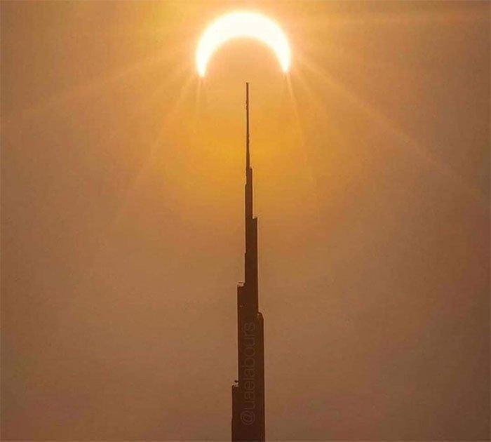 Hình ảnh nhật thực tuyệt đẹp từ khắp nơi trên thế giới