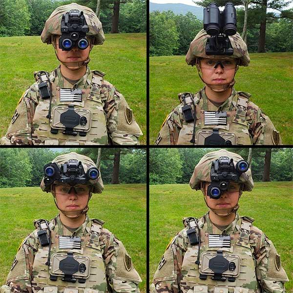 Hình ảnh từ kính nhìn đêm ENVG-B mới của lính Mỹ