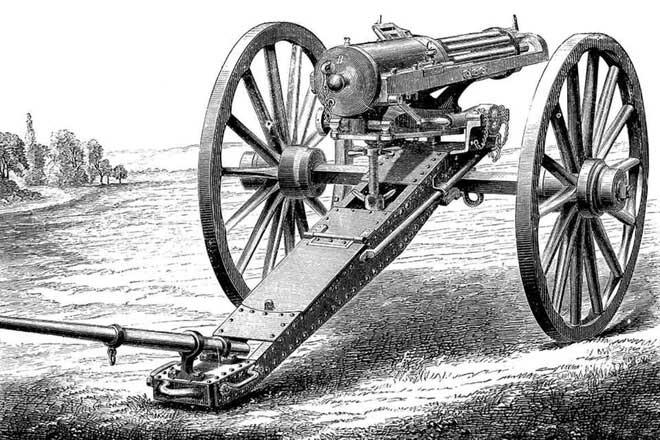 Hiram Stevens Maxim - Cha đẻ của súng máy tự động