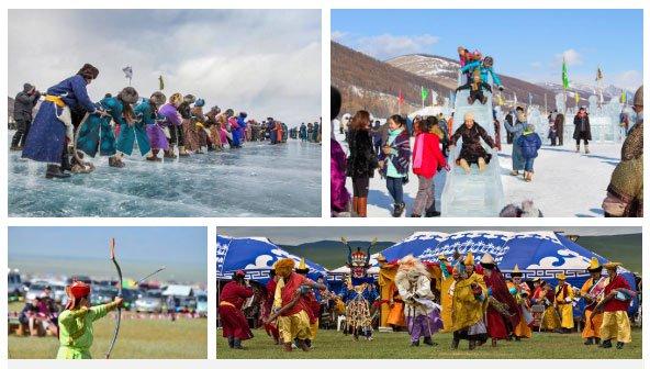 Hồ đóng băng của người Mông Cổ: Lạnh kinh hoàng nhưng đẹp đến mê mẩn
