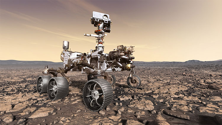 Hố khổng lồ nơi NASA săn sự sống ngoài Trái đất