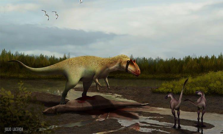 Hóa thạch tiết lộ tổ tiên của vua các loài khủng long
