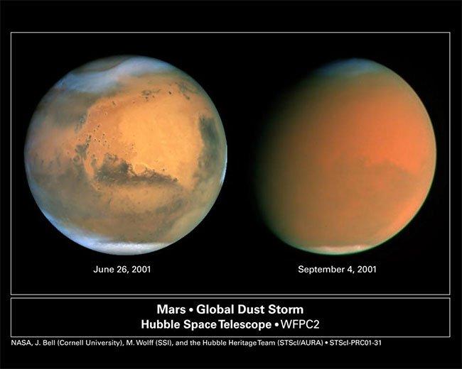 Hôm nay, Hỏa tinh tiến gần Trái đất nhất trong năm