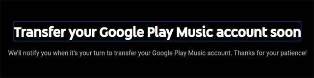 Hướng dẫn chuyển thư viện nhạc từ Google Play Music sang YouTube Music