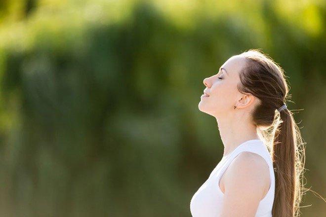 Hướng dẫn hít thở đúng cách