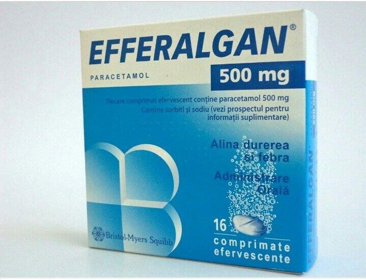 Hướng dẫn sử dụng thuốc Efferalgan 500mg giảm đau hạ sốt