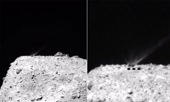 Kết quả bắn tiểu hành tinh 4,6 tỷ năm tuổi của tàu Nhật