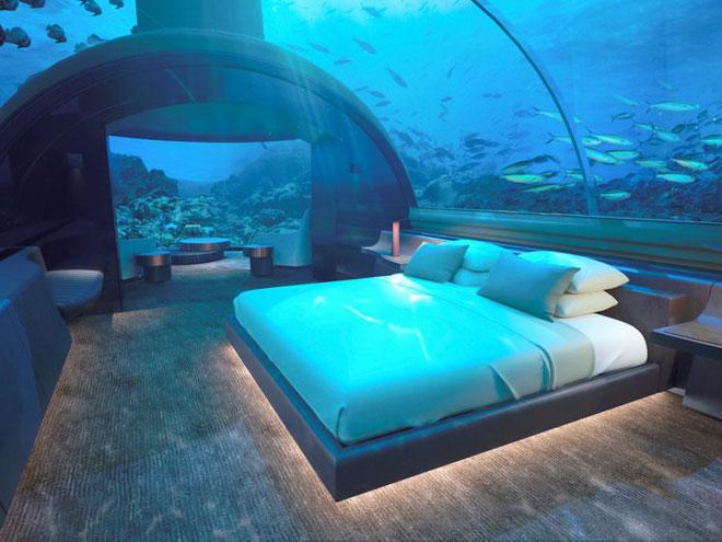 Khách sạn dưới biển đầu tiên trên thế giới, nơi bạn có thể ngủ cạnh cá mập chỉ với 1 tỷ/1 đêm