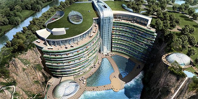 Khách sạn với 16/18 tầng nằm dưới mặt đất chuẩn bị khai trương, giá từ 11,3 triệu/1 đêm