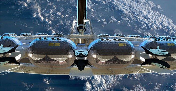 Khách sạn vũ trụ sẽ đi vào hoạt động năm 2025