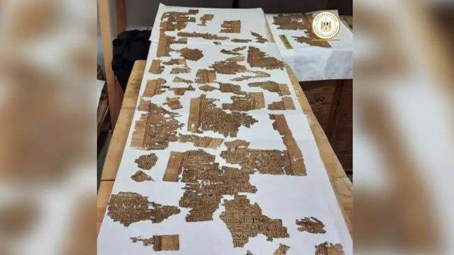 Khai quật hầm mộ cổ nghìn năm tuổi ở Ai Cập, tìm thấy Cuốn sách của người chết dài 4m