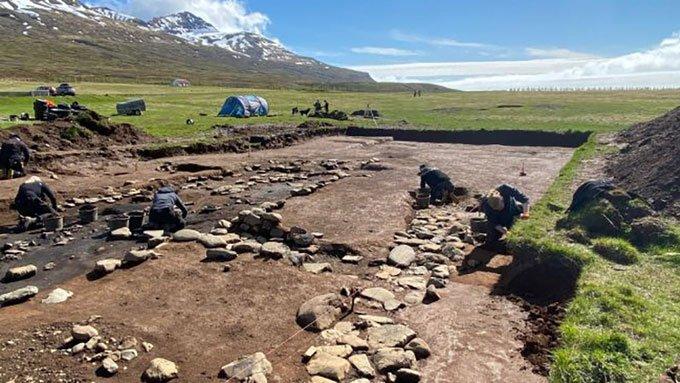 Khai quật khu định cư lâu đời nhất của người Viking