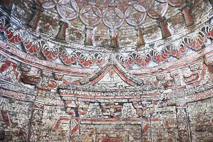 Khai quật mộ cổ, phát hiện bức tranh tường tinh xảo từ thời nhà Nguyên
