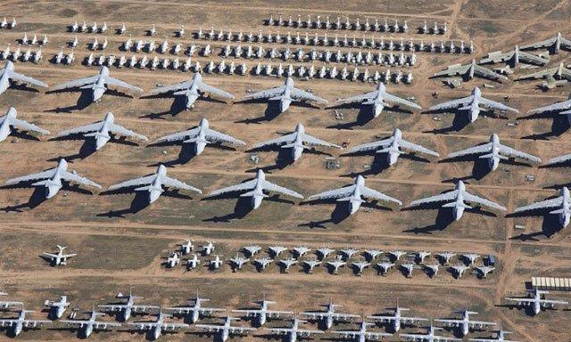 Khám phá nghĩa địa máy bay lớn nhất thế giới