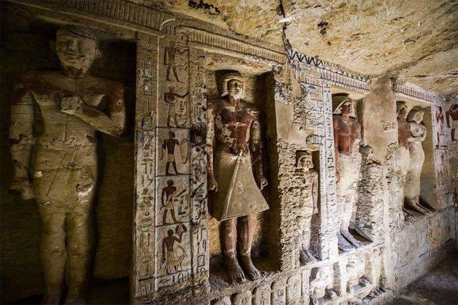 Khám phá ngôi mộ Ai Cập cổ đại bí ẩn bằng trải nghiệm cực mới