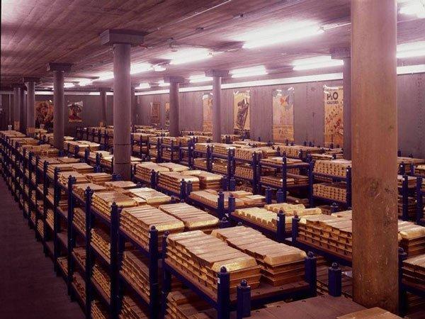 Khám phá những kho vàng lớn nhất thế giới