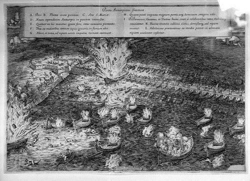 Khám phá tàu đánh bom tự sát mạnh như vũ khí hạt nhân ở thế kỷ 16