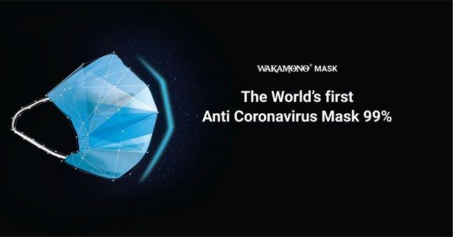 Khẩu trang Wakamono do người Việt phát minh có khả năng tiêu diệt virus corona đến 99%