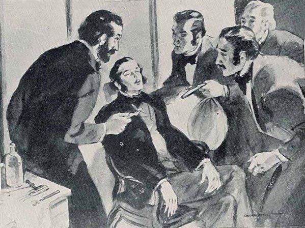 Khí cười và bữa tiệc giải trí giới thượng lưu thế kỷ 19