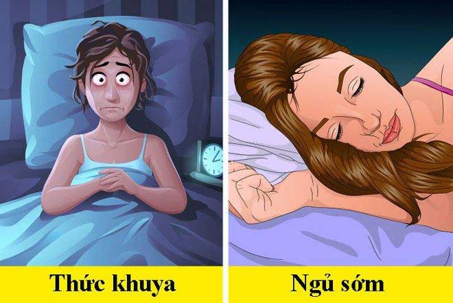 Khi đi ngủ trước hoặc sau 10h tối, cơ thể con người sẽ khác nhau thế nào?