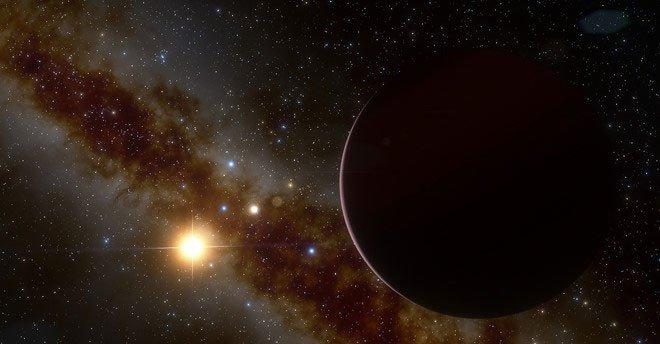 Khoa học bối rối với chuyện lạ hành tinh lớn xoay quanh sao lùn đỏ