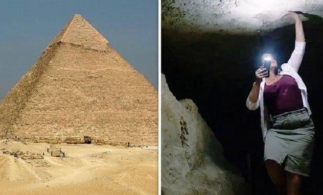 Khoảnh khắc hãi hùng khi khám phá Đại kim tự tháp 4.500 năm