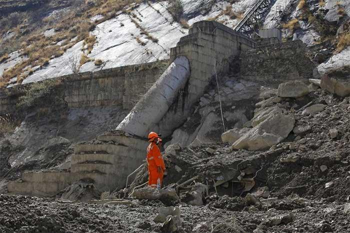 Khối đá tuyết như bom nguyên tử ở thảm họa Chamoli làm 204 người chết