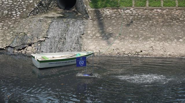 Khởi động dự án làm sạch sông Tô Lịch bằng công nghệ Nhật Bản