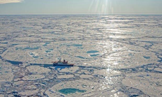 Khối khí methane ngủ say dưới Bắc Cực bắt đầu thoát ra ngoài