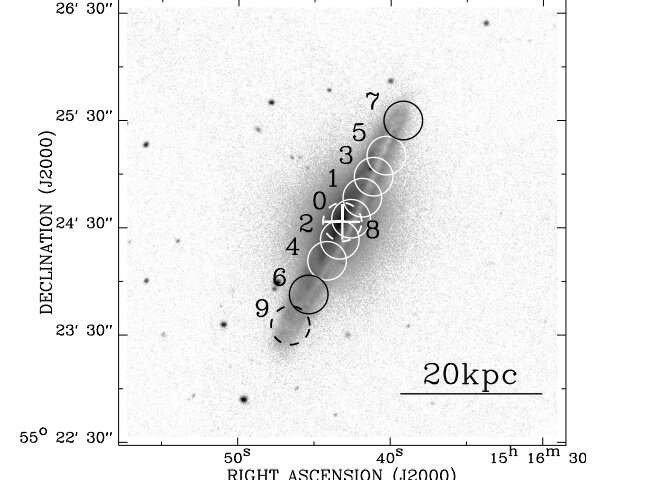 Kinh ngạc phân tử khí trong thiên hà xoắn ốc NGC 5908