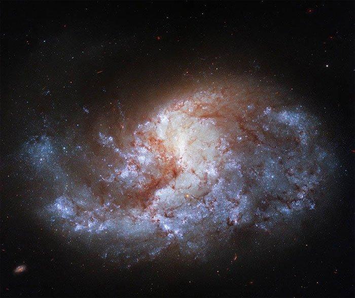 Kính viễn vọng không gian Hubble chụp ảnh viên ngọc vũ trụ cách 68triệu năm ánh sáng