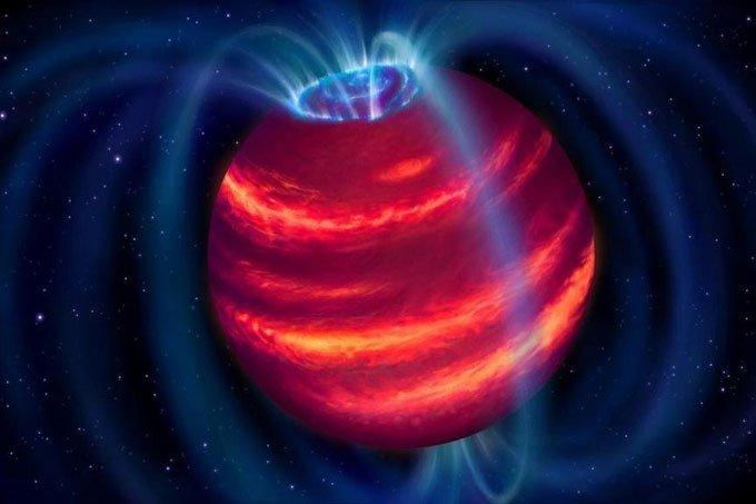 Lần đầu phát hiện sao lùn nâunhờ kính viễn vọng vô tuyến
