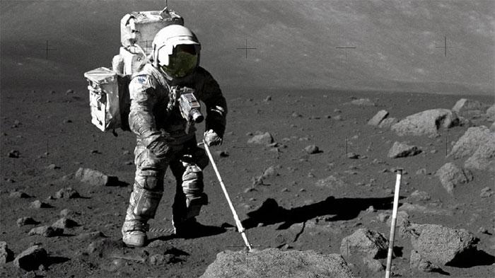 Lần đầu tìm thấy thông tin từ hạt bụi Mặt trăng