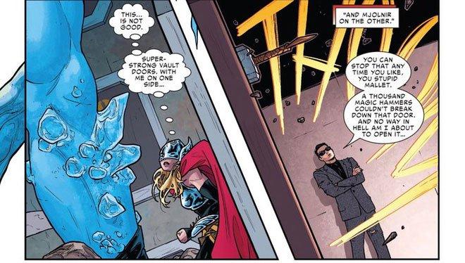 Liệu búa Thor có thể phá hủy xương kim loại của Wolverine hay không?